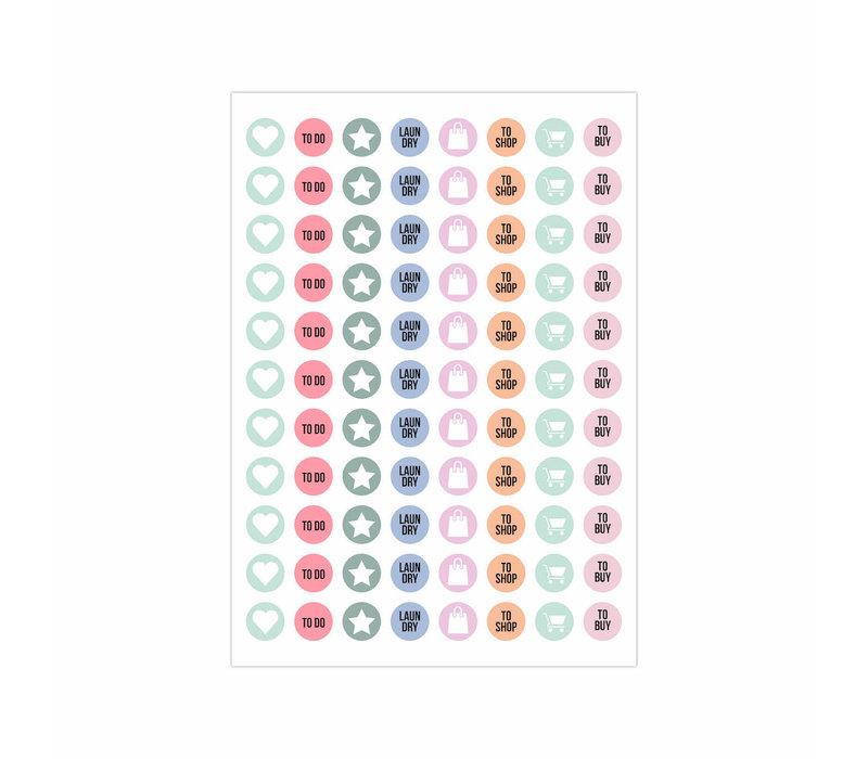 Stick it Stickerbook Green, per 6 stuks