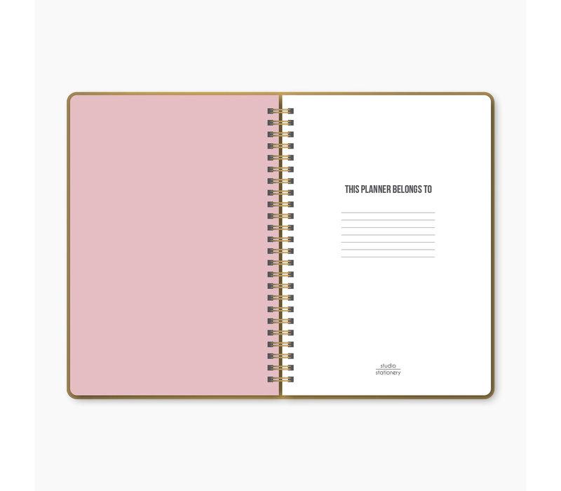 School Planner - Wild & Cute, per 3 stuks