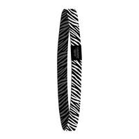 Elastic band Zebra, per 10 stuks