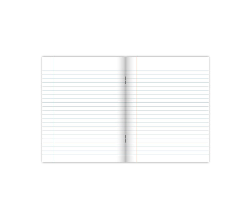 A5 exercise books softcover Warm 4-pack, per 3