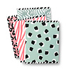 Studio Stationery A5 exercise books softcover Cool 4-pack, per 3