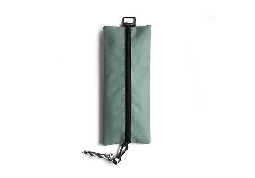 Studio Stationery Pencil Bag sage & leaves, per 3