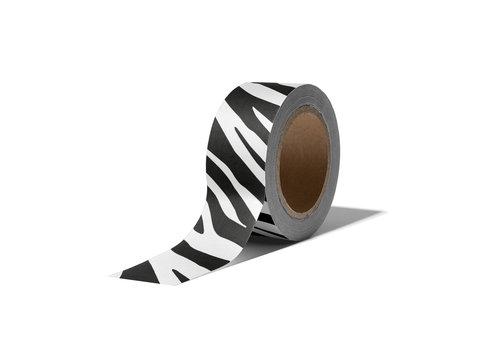 Studio Stationery Washi tape Zebra, per 9 stuks