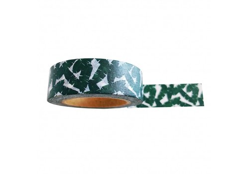 Studio Stationery Washi tape Leaves , per 9 pieces