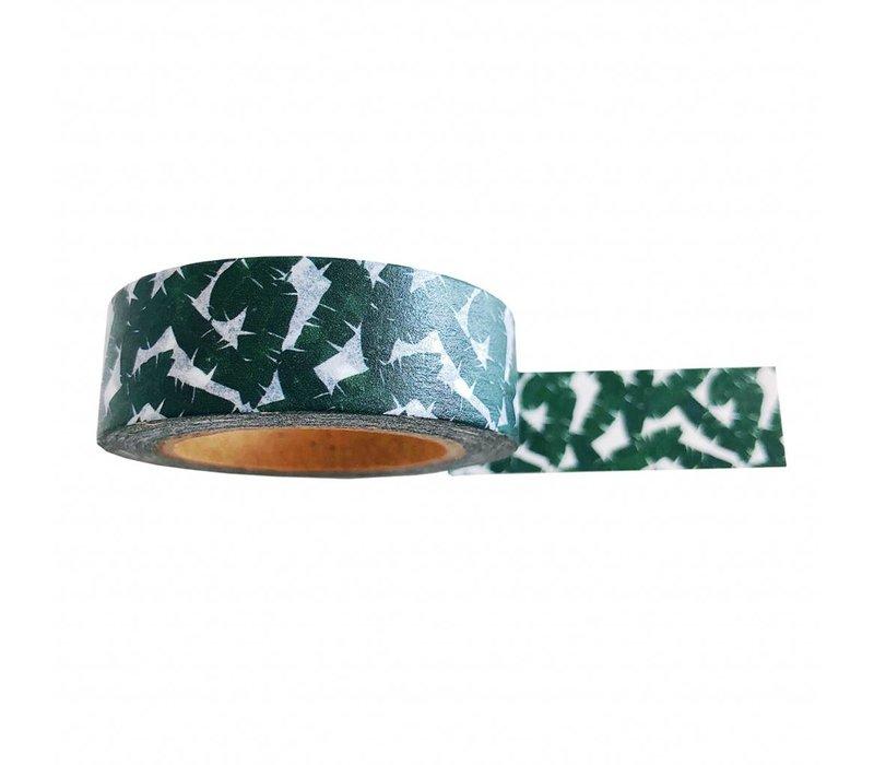 Washi tape Leaves , per 9 stuks