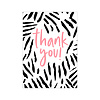 Studio Stationery Card Thank you neon, per 10 pieces
