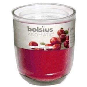 Bolsius kaarsen Bolsius Geurglas Wild Cranberry 80/70
