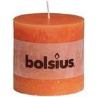 Bolsius kaarsen Stompkaarsen 100/100 mm oranje