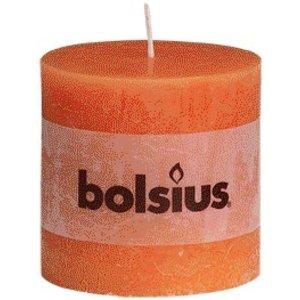 Bolsius Bolsius rustieke stompkaarsen oranje online in de kaarsenwinkel