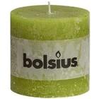 Bolsius Stompkaarsen 100/100 mm groen