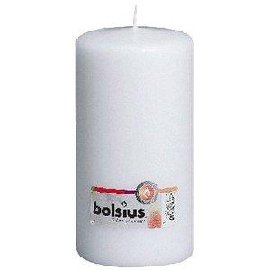 Bolsius Stompkaarsen 200/100 mm wit