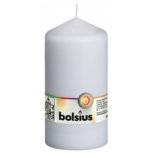 Bolsius Stompkaars kleur wit 150/80 mm