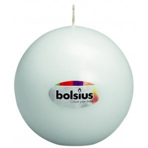 Bolsius Bolsius traditionele Bolkaarsen met een diameter van 7 cm in de kleur wit