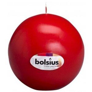 Bolsius kaarsen Bolsius traditionele Bolkaarsen met een diameter van 7 cm in de kleur rood