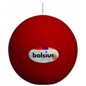 Bolsius Bolsius traditionele Bolkaarsen met een diameter van 7 cm in de kleur wijnrood