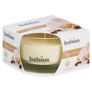 Bolsius Geurglas small 80/50 True Scents Vanille