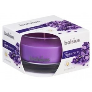 Bolsius Geurglas small 80/50 True Scents Lavendel