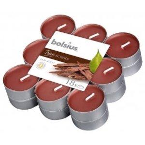 Bolsius True Scents Geur waxinelichtjes  Oud Wood