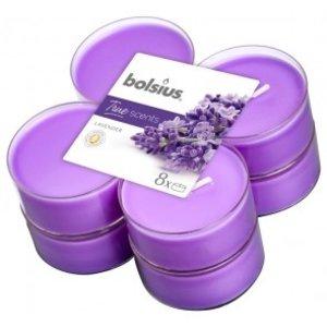 Bolsius True Scents Maxilicht  Geur Lavendel