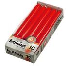 Bolsius  Dinerkaarsen rood 10 stuks 230/20 mm