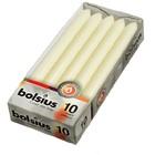 Bolsius  Dinerkaarsen ivoor 10 stuks 230/20 mm