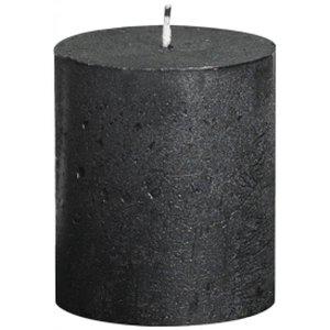 Bolsius Kleine Stompkaars 80/68 metallic antraciet