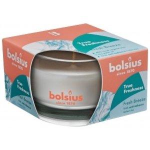Bolsius Bolsius Geurglas small 80/50 True Freshness Fresh Breeze