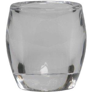 Bolsius kaarsen Kleine glazen theelichthouder transparant