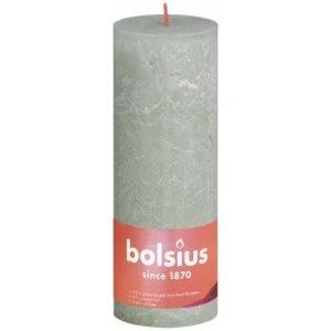 Bolsius Rustiek stompkaars 190/68 Foggy Green