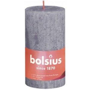 Bolsius Rustiek stompkaars 130/68 Frosted Lavender