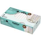 Bolsius Kroonkaarsen 60 in een doos 200/24 mm wit