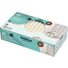 Bolsius Kroonkaarsen 60 in een doos 200/24 mm ivoor