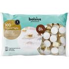 Bolsius Waxinelichtjes 100 stuks in een zak 8 branduren