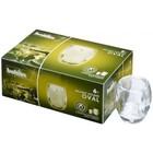Bolsius Horeca ReLight houder Oval doos 6 100/84 Transparant
