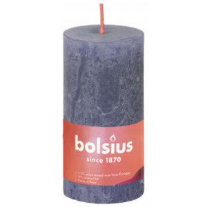Bolsius Rustiek stompkaars 100/50  Twilight Blue