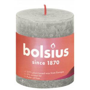 Bolsius Rustiek stompkaars 80/68 Sandy Grey