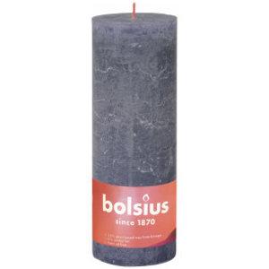 Bolsius Rustiek stompkaars 190/68 Twilight Blue