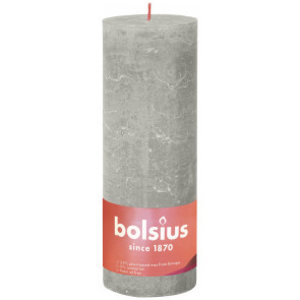 Bolsius Rustiek stompkaars 190/68 Sandy Grey