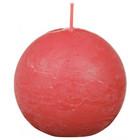 Bolsius Rustiek bolkaars shine 76 mm, Blossom Pink