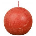 Bolsius Rustiek bolkaars shine 76 mm, Earthy Orange