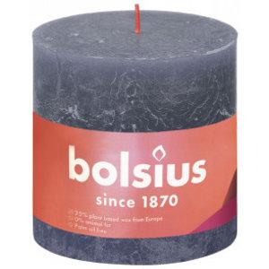 Bolsius Rustiek stompkaars 100/100 Twilight Blue