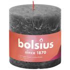 Bolsius Rustiek stompkaars 100/100 Stormy Grey