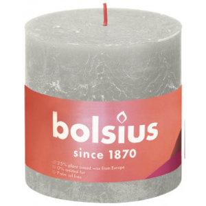 Bolsius Rustiek stompkaars 100/100  Sandy Grey