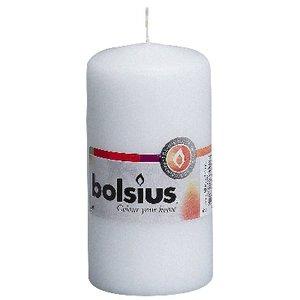 Bolsius kaarsen Stompkaarsen 120/60 mm wit