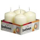 Bolsius  Stompkaarsen 60/40 mm ivoor 4 stuks