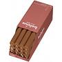 Bolsius Rustieke tafelkaarsen Shine Spice Brown 270/23 mm 16 stuks in een doos