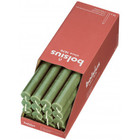 Bolsius Rustieke tafelkaarsen Shine Fresh Olive  270/23 mm 16 stuks in een doos
