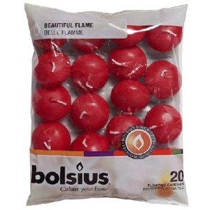 Bolsius Drijfkaarsen voor in een schaal met water of in de zomermaanden in een vijver.
