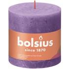 Bolsius Rustiek stompkaars 100/100 Vibrant Violet