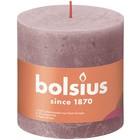 Bolsius Rustiek stompkaars 100/100 Ash Rose